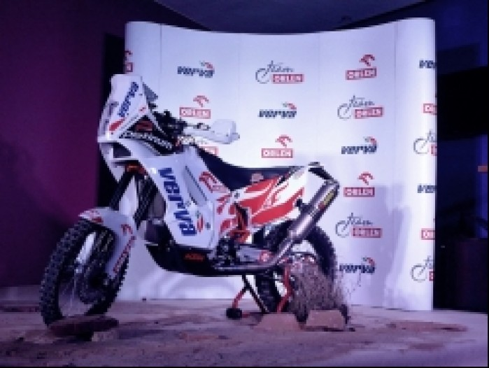 Motocykl Dakarowy Orlen