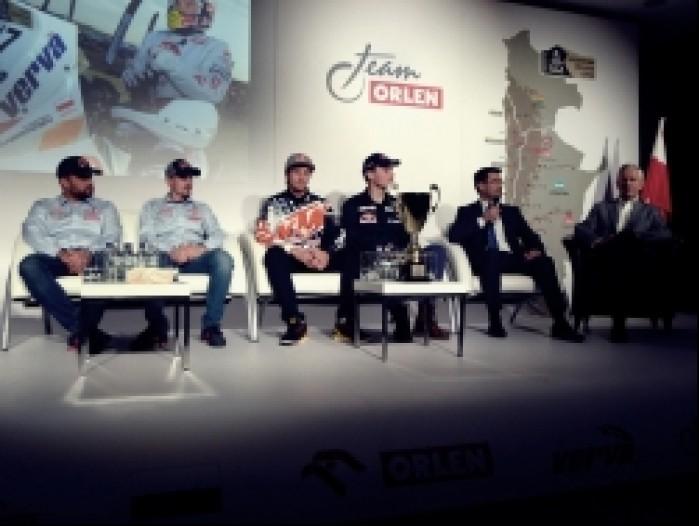 Rozmowy o Dakarze Orlen Team