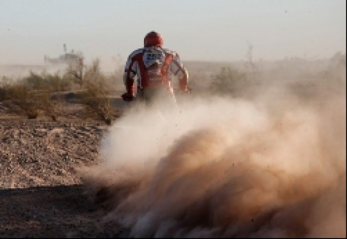 Sonik na pustyni