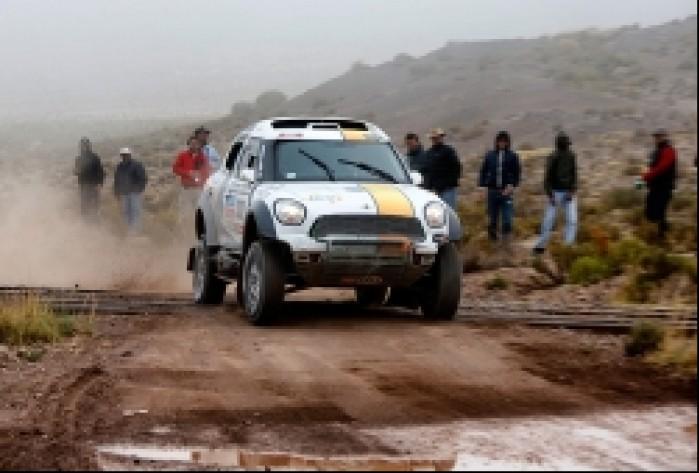 Dakar 2014 etap 8 Martin Kaczmarski