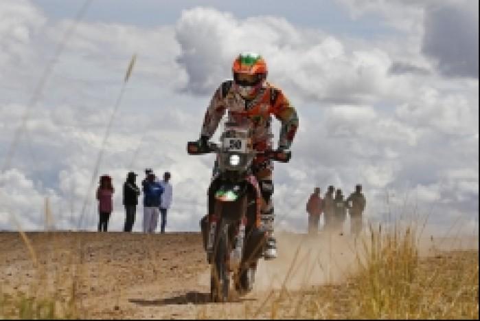 Dakar 2014 etap 8 sanz
