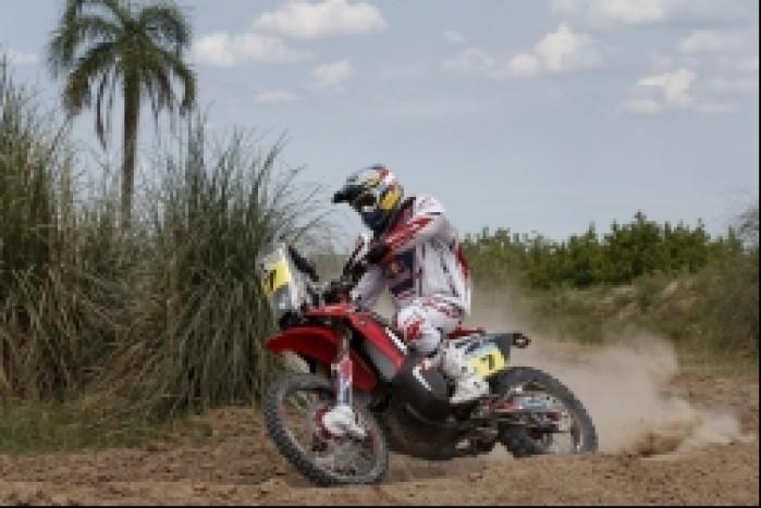 Honda Dakar 2014 etap 8
