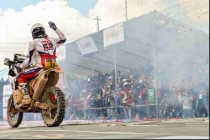 Kuba Przygonski Dakar 2014 etap 8