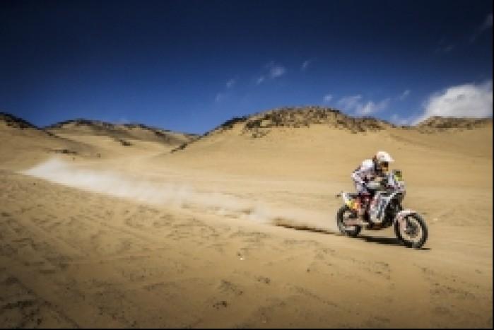 Dakar 2014 etap 11 Przygonski