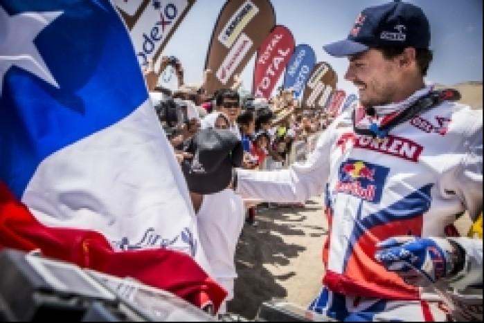 Przygonski Dakar 2014 etap 12