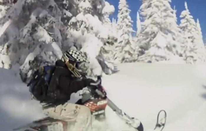 zabawy w sniegu