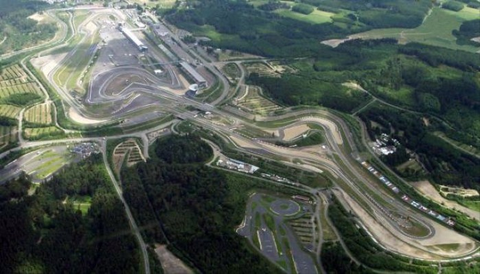 Nurburgring z lotu ptaka