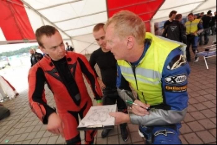 Omowienie sesji California Superbike School Polska