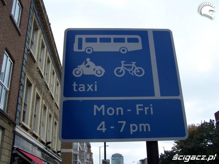 Znaki w Londynie