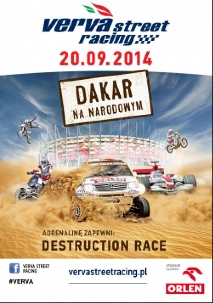 plakat Verva Street Racing 2014