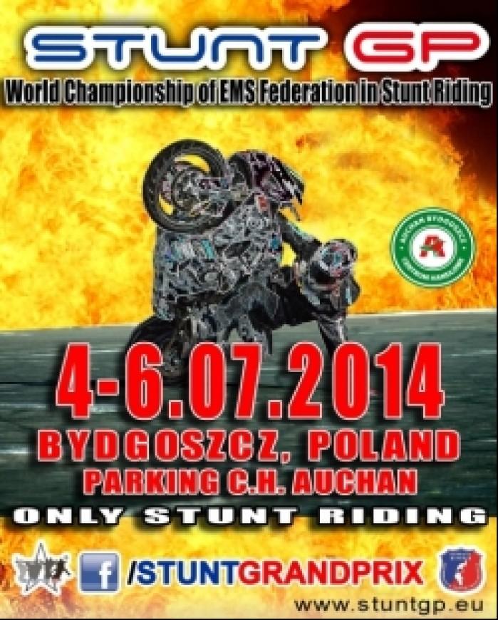 Stunt Grand Prix plakat
