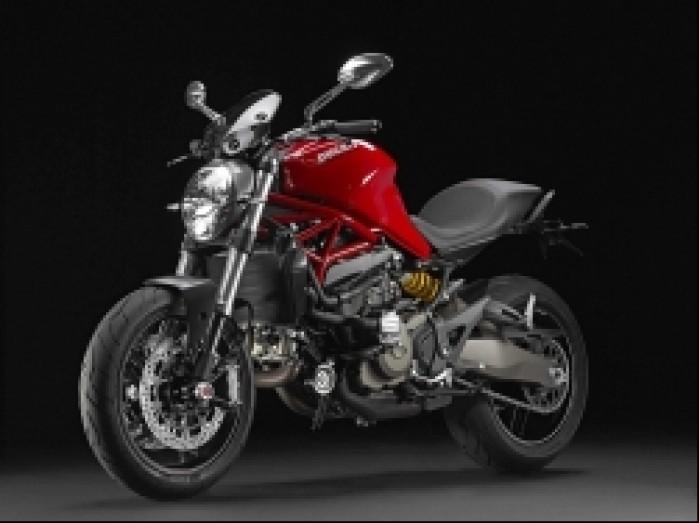 Ducati Monster 821 czerwony