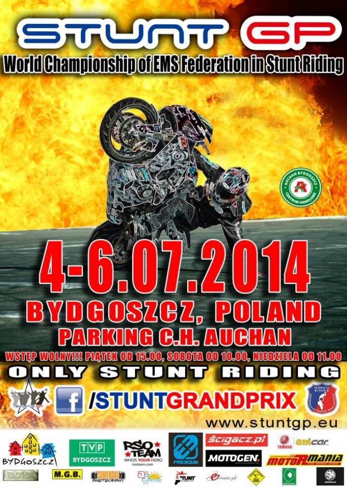 plakat Stunt GP 2014