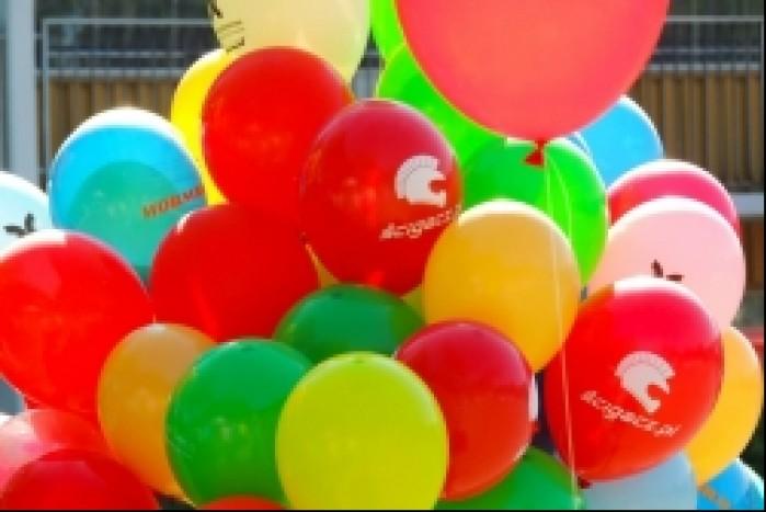 Balony scigacza w Centrum Zdrowia Dziecka