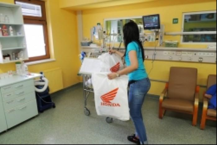 Honda w Centrum Zdrowia Dziecka