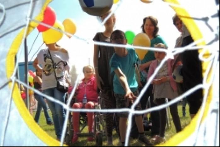 Zabawy w Centrum Zdrowia Dziecka