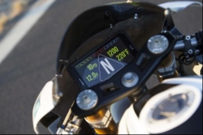 Kawasaki ZX 3RR Concept Icon zegary