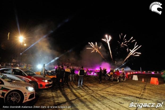 sztuczne ognie inter motors show