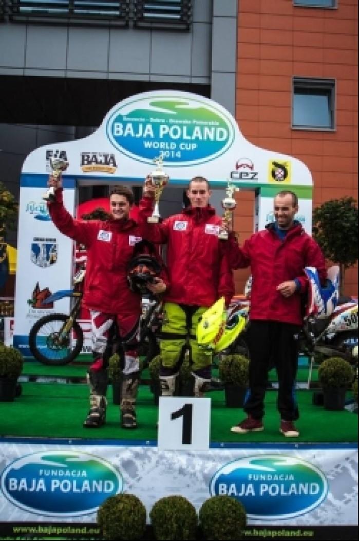 podium Puchar Polski Baja Poland