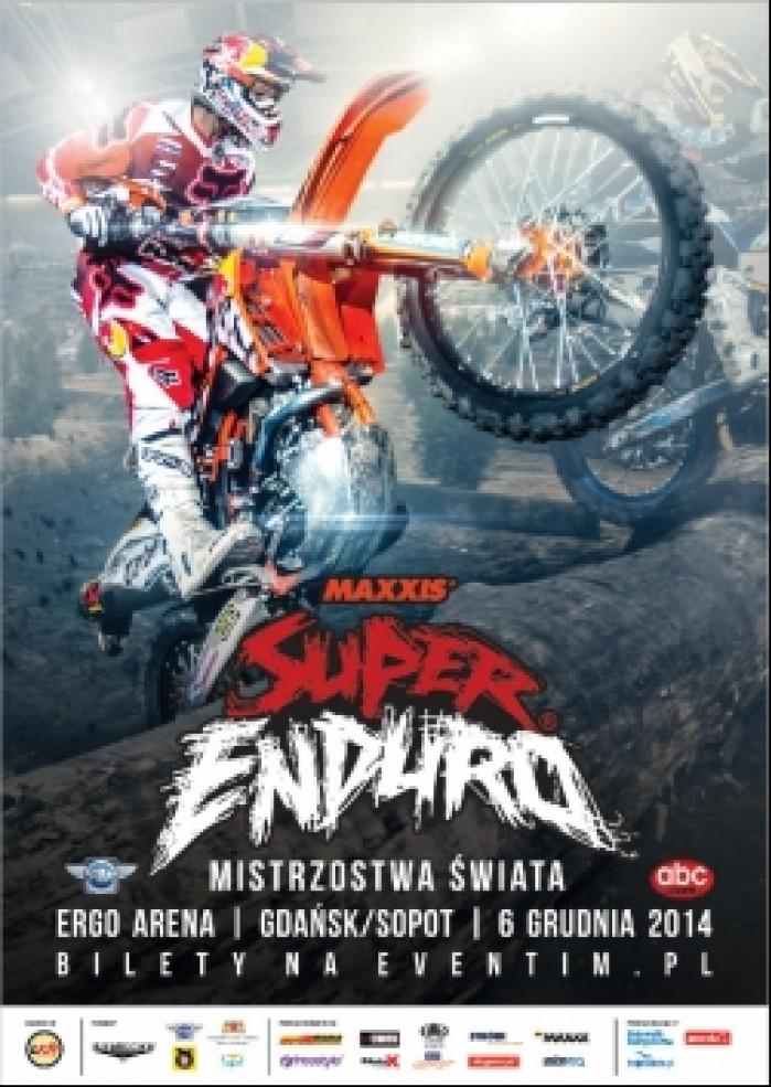 plakat Super Enduro Gdansk 2014