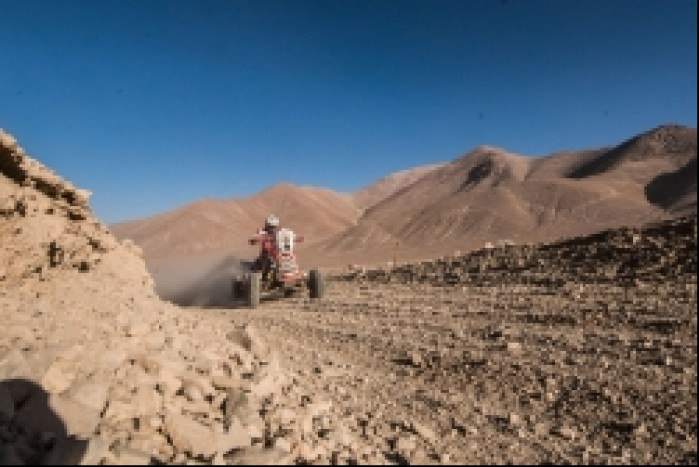 Etap 9 Dakar 2014 Rafal Sonik z