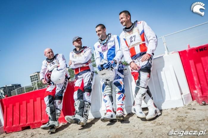 Jakub Piatek z ekipa Nasz Dakar