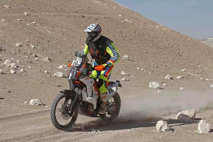 Toby Price KTM D6