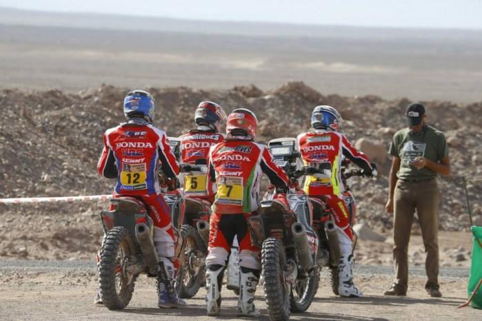 Ekipa Hondy Dakar 2015