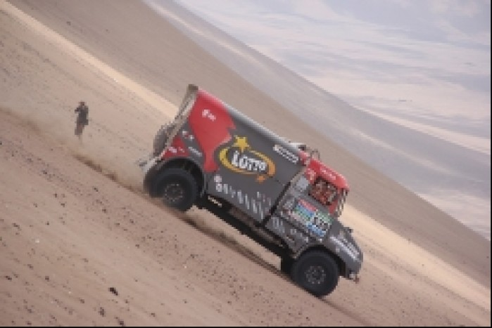 lotto team ciezarowka dakar