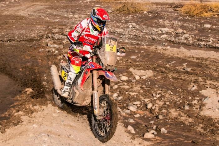 Joan Barreda Honda Dakar 2015