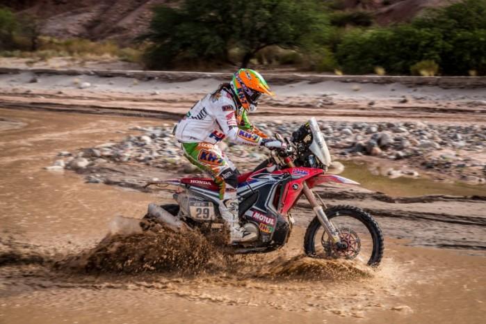 Honda HRC Dakar 2015