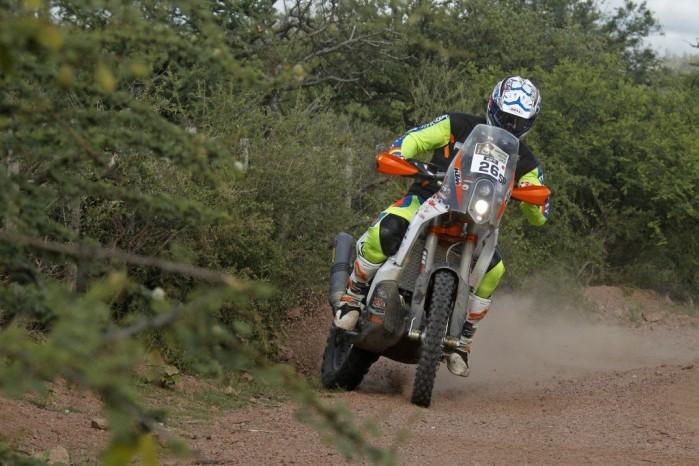 Toby Price Dakar 2015