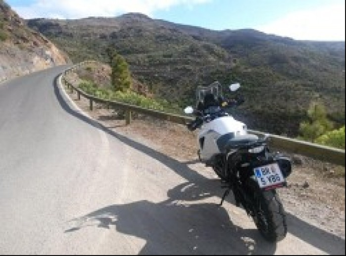 KTM 1290 Super Adventure drogi