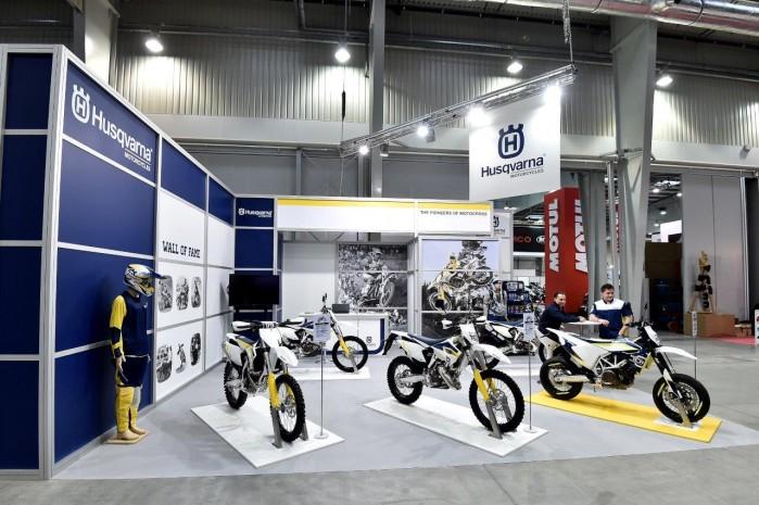 Husqvarna 2015 Wystawa Motocykli Warszawa
