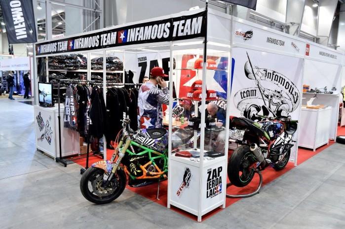 Infamous 2015 Wystawa Motocykli Warszawa