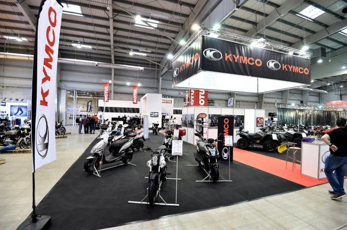 Kymco 2015 Wystawa Motocykli Warszawa