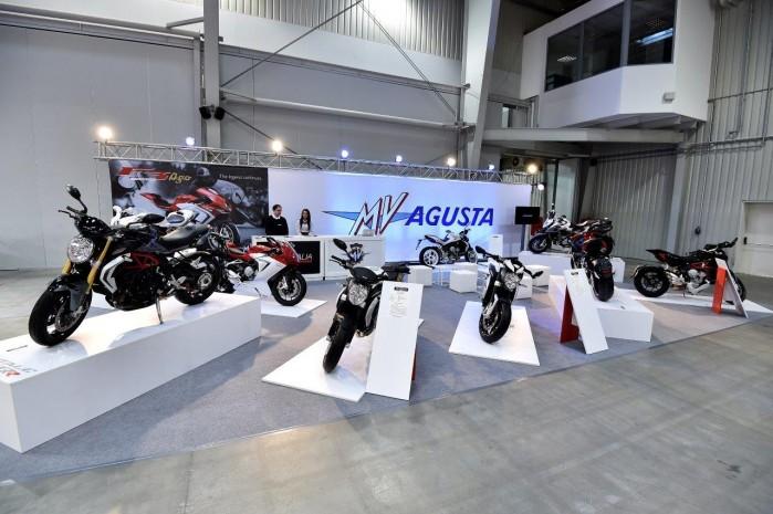 MV Agusta 2015 Wystawa Motocykli Warszawa