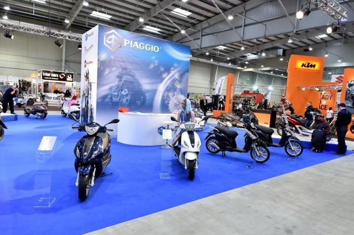 Piaggio 2015 Wystawa Motocykli Warszawa