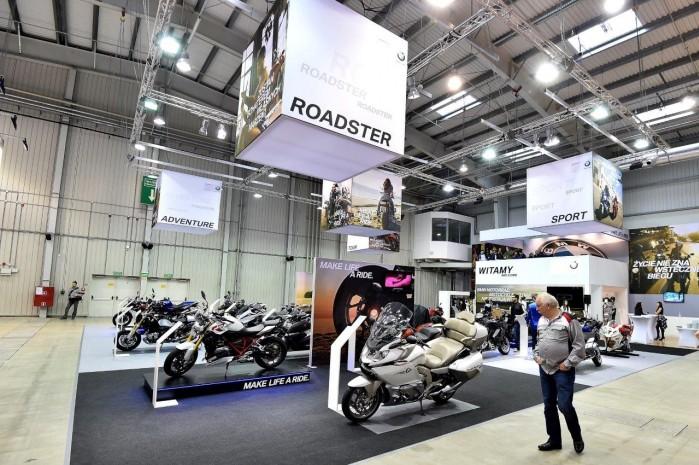 Stoisko BMW 2015 Wystawa Motocykli Warszawa