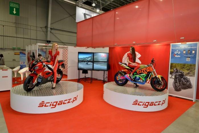 Stoisko Scigaczpl 2015 Wystawa Motocykli Warszawa