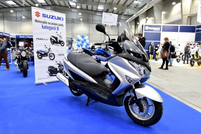 Suzuki 2015 Wystawa Motocykli Warszawa
