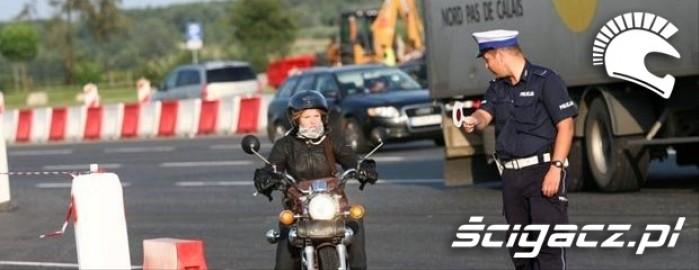 motocykl policja
