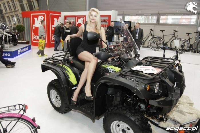 Motor Show Poznan 2014 stoisko Romet