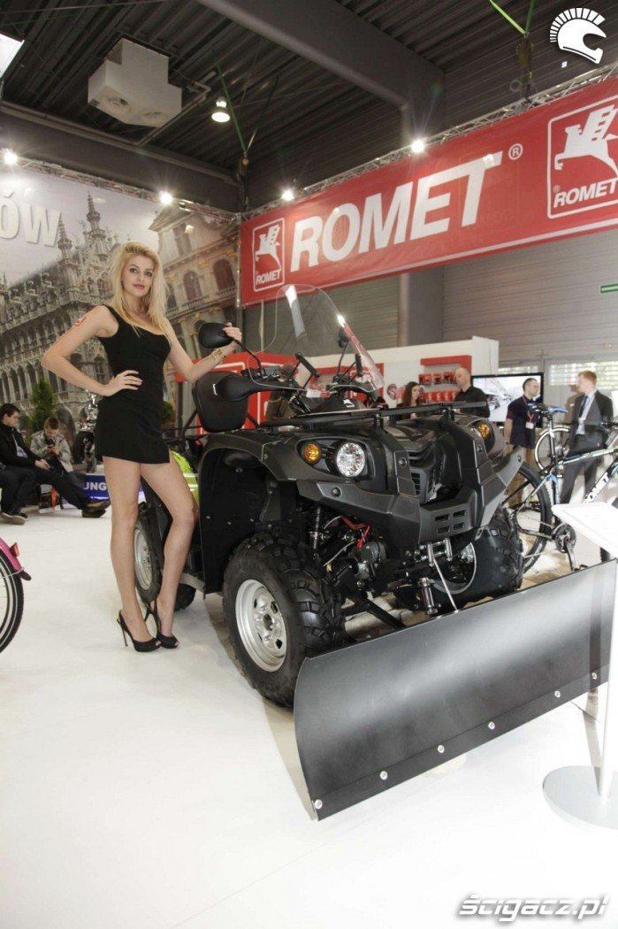 Motor Show Poznan 2014 quad Romet