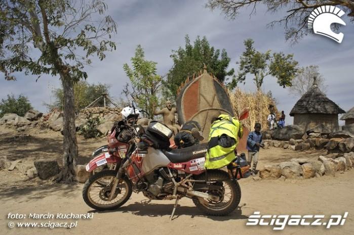 motocykle w afryce