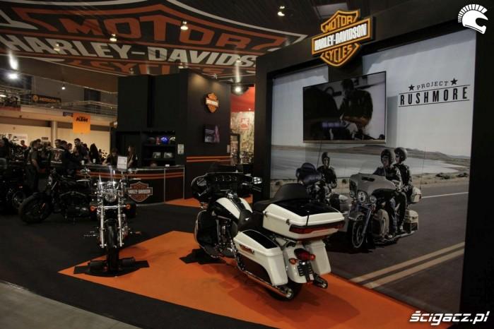 Motor Show Poznan 2014 Harley Davidson