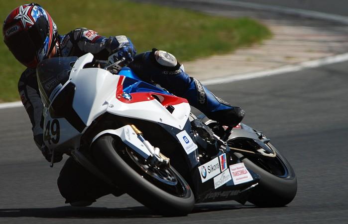 Andrzej Pawelec na BMW S1000RR