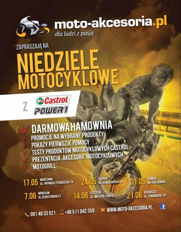 plakat Niedziele Motocyklowe