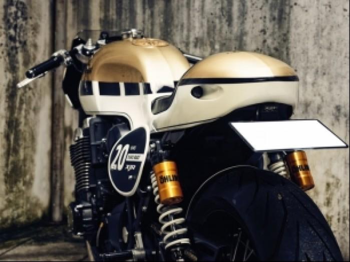 Yamaha XJR1300 custom 2015