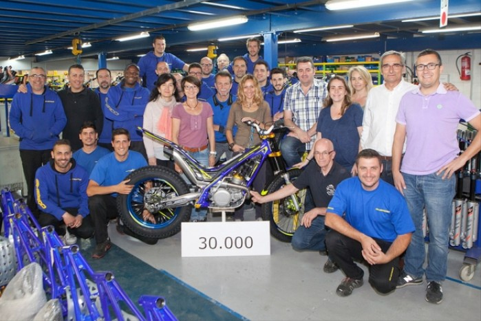 Sherco motorcycle factory